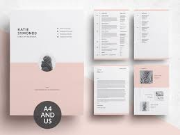 Modern Resume Cover Letters Word Resume Cover Letter Template By Resume Templates Dribbble