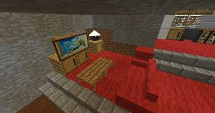 Minecraft Pe Bedroom A Living Room In Minecraft Best Living Room 2017