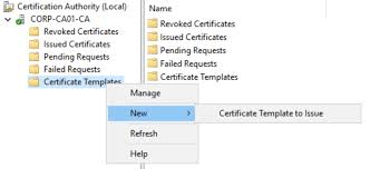 Certification Template Certificate Deployment For Mobile Devices Using Microsoft Intune