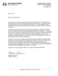 art teacher recommendation letter letters of recommendation