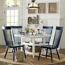 coastal inspired furniture. Windsor Chairs Look Great In This Nautical Inspired Room. A Nice, Casual For Eat Kitchen Area. Coastal Furniture