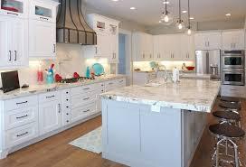 alpine white granite countertops kitchen salt lake city with stainless steel ovens