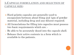 Hard Gelatin Capsule Prepared By Sabrina Rahman Archie