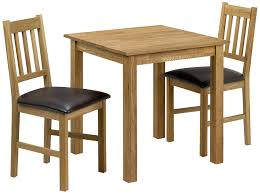 julian bowen moor square dining table set with 2 chairs light oak co uk kitchen home