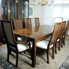 henredon table scene one dining table with eight chairs henredon mahogany coffee table henredon table
