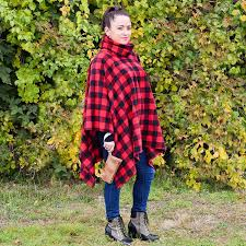 Fleece Poncho Pattern