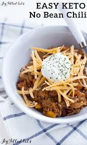 keto chili recipe slow cooker no bean