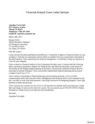 Data Analyst Cover Letter Entry Level Smart Financial Reporting