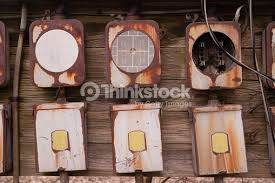 old home fuse box panel rusted electrical equipment stock photo old home fuse box panel rusted electrical equipment stock photo