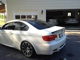 BMW 5 Series bmw m3 in white : 2008 BMW M3 Alpine White on Fox Red Interior, Extended Maintenance
