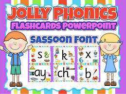 Jolly Phonics Alphabet Chart Free Printable Jolly Phonics Flashcards Wall Decor Powerpoint In Sassoon Font