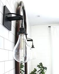 industrial bath lighting. Bath Lighting Sconces Industrial Bathroom Sconce See This Instagram Po By Beginninginthemiddle Capital R
