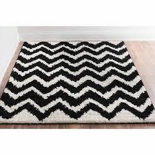 well woven passion chevron black area rug 5 x 7 2