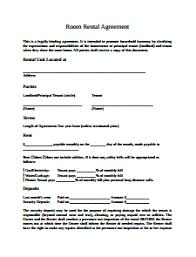 Room Rental Agreement Template: Free Download, Create, Edit, Fill ...