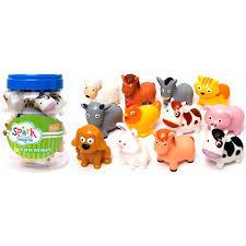 farm animals toys walmart. Fine Farm 12Piece Bucket Of Farm Animals With Toys Walmart