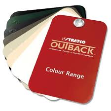Stratco Colour Chart Outback Flat Stratco