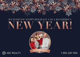 6 Gorgeous Happy New Year Cards For Realtors
