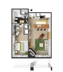 1 bedroom 750 sq feet