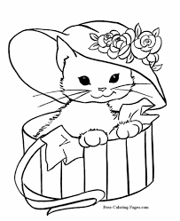 Coloring pages are fun for children of all ages and are a great educational tool that helps children develop fine motor skills, creativity and color. Coloring Pages Of Cats