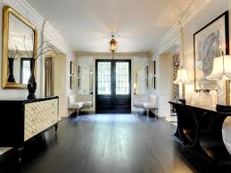 hallway table decor. Inspiration Ideas Hallway Table Decor With Black White Means Incredible Interior B