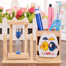 decorative office supplies. 1setsell natural wooden pen holder office accessories pencil desk cute decorative supplies k