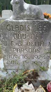 Gladis Lee Parsons (1924-1926) - Find A Grave Memorial