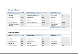 Payroll Record Template - April.onthemarch.co
