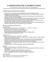 Cashier Resume Delectable Cashier Resume Sample Resume Companion
