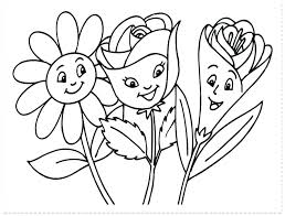 Flower Coloring Pages Free Printable T6745 Tropical Flowers Stained