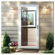larson storm door with retractable screen storm door with retractable screen series self storing storm door