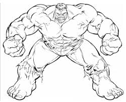 with hulk coloring pictures colouring avengers the hulk coloring page