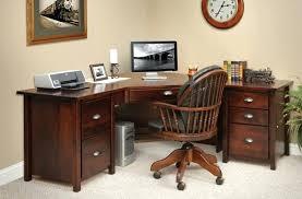 corner home office. Wooden Home Office Desk Corner Desks For Decorating Ideas . A