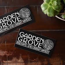 garden grove sticker 4x6