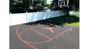 concrete basketball court paint painting best for outdoor cour