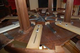 extendable dining table plans woodguides