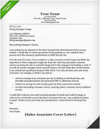 8 9 Sample Cover Letters For Sales Jobs Samples