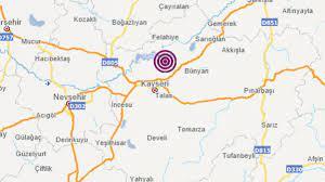 Son dakika... Kayseri'de deprem mi oldu? Peş peşe depremler - Son Dakika  Milliyet