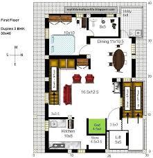 30 x 40 duplex house plans south facing unique south facing house floor plans 30