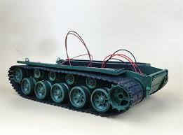 Damping Balance <b>Tank</b> Robot Chassis Platform With <b>Suspension</b> ...