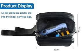 12pcs <b>Fiber Optic FTTH Tool</b> Kit with FC 6S Fiber Cleaver and ...