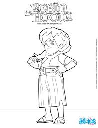 Small Picture Robin hood little john mischief in sherwood coloring pages