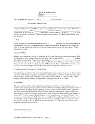 60 Recent Printable House Rental Agreement Form – Damwest Agreement