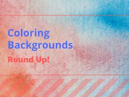 coloring page guide to coloring backgrounds