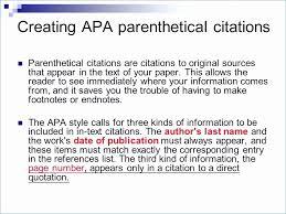 Apa Chart Format Luxury Apa Presentation Citation Example