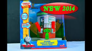Fisher Price Wooden Railroad Maron Lights Sounds Signal Shed New 2014 Maron Lights Sounds Signal Shed A Thomas Wooden Railway Toy Train Review By Mattel