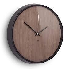 modern wall clocks  madera walnut wall clock  eurway