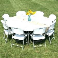72 inch round table seats how many inch round table inch round folding table 6 foot
