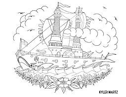 Be it your kids favorite animal, vehicle, fruit or whatever we have all sorts of coloring pictures for kids. Seattle Artists Free Coloring Book Challenges You To Stay Inside The Lines While You Re Inside Your Home During Coronavirus Shutdown The Seattle Times