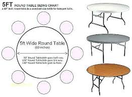 60 inch round tablecloth fits what size table