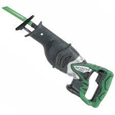 hitachi reciprocating saw. hitachi cr18dl/l4 18v reciprocating saw - clip on battery, body only t